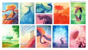Colour thumbnails