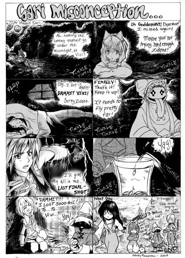 Sari Misconception by finalfantasyfan