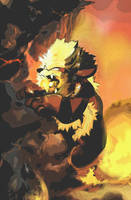 Arcanine Pokemon by Imomi-Henka