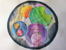 Gallifrey Art by Colormeskittle