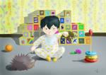baby Kyoya by verona-verona