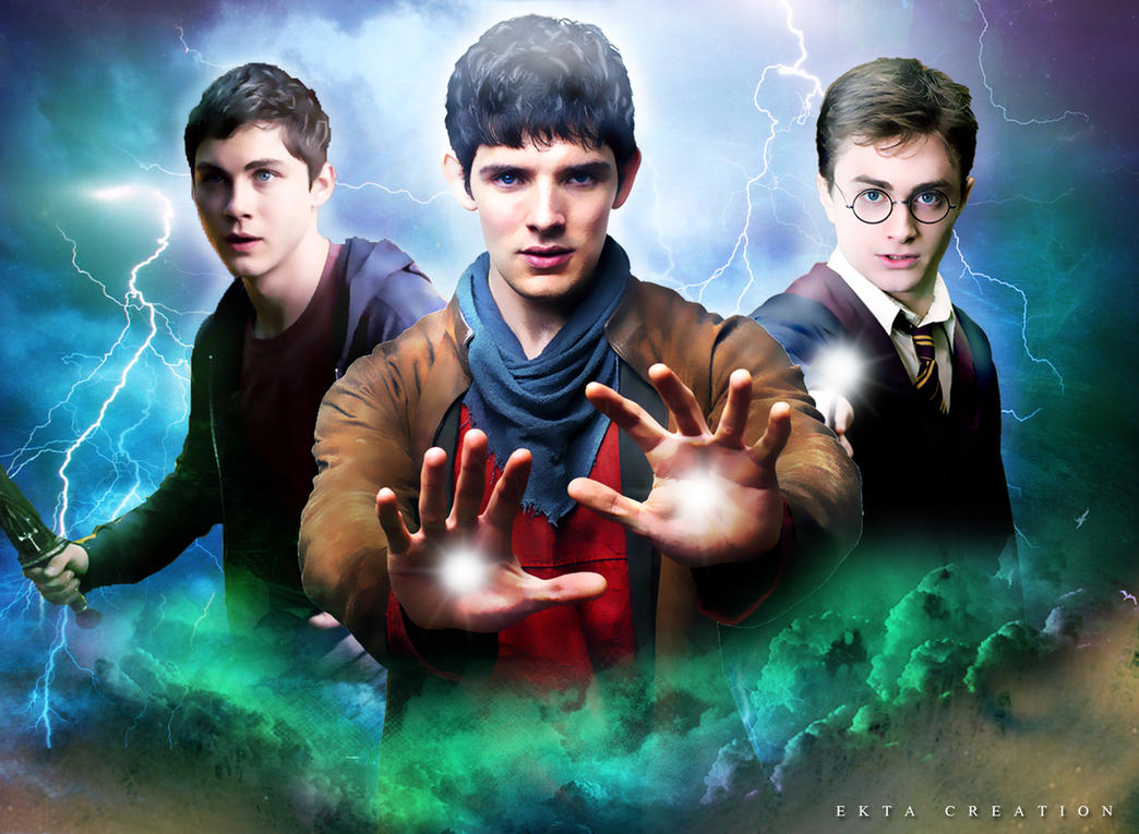 Multifandom merlinharry potterpercy jackson by ektapinki on multifandom merlinharry potterpercy jackson by ektapinki voltagebd Image collections