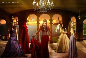 multifandom(Merlin,TVD,OUAT,GOT,Reign) by ektapinki