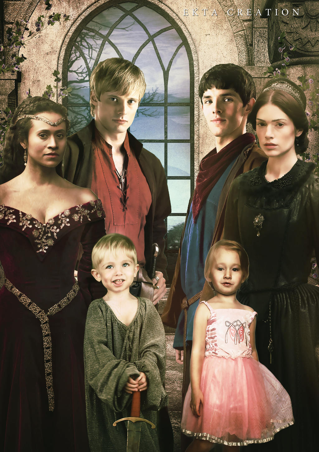 merlin family (fanfiction) by ektapinki on DeviantArt
