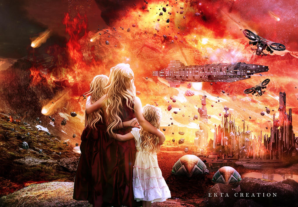 End of The World by ektapinki