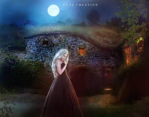 Feeling lonely in the Moonlight by ektapinki