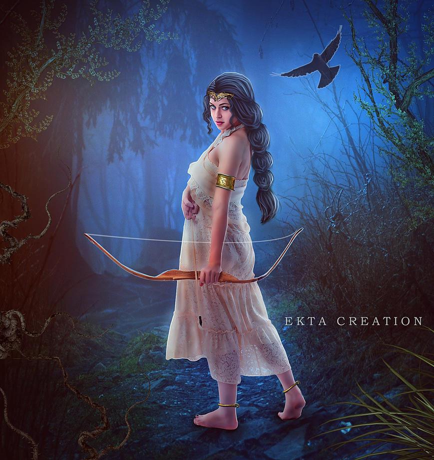 Archer Queen by ektapinki