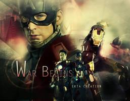 Captain america vs Iron man by ektapinki