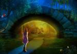 Secret gate of the magic world