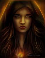 The Lady In The Dark by ektapinki