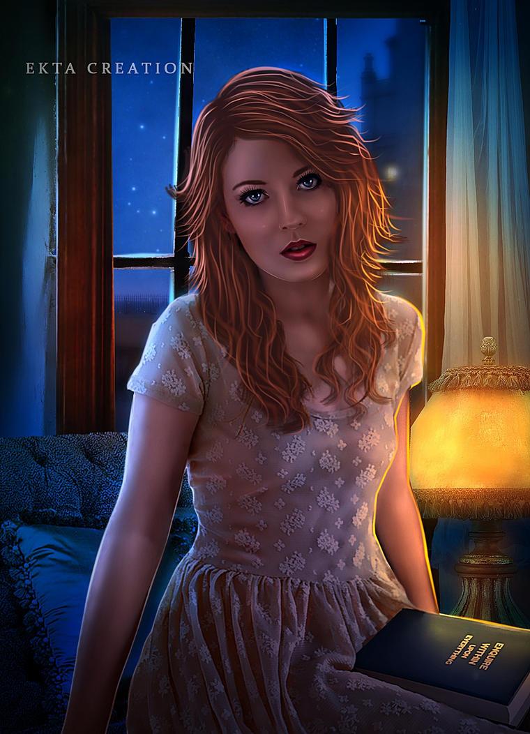 A Lonely Night Copy by ektapinki