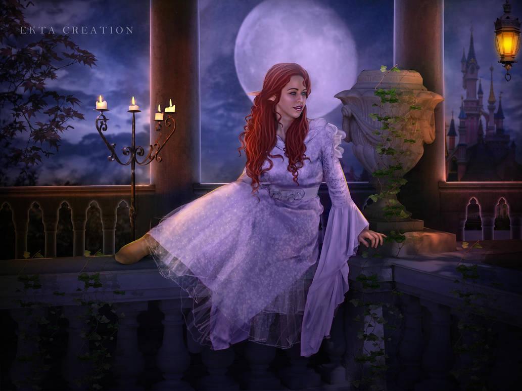The Elf princess by ektapinki