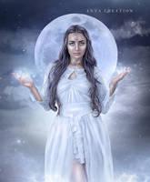 Godess Of Moon by ektapinki