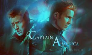 Captain America by ektapinki