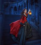 The Night in the Dark Mansion
