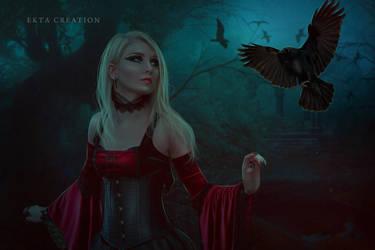 Raven by ektapinki
