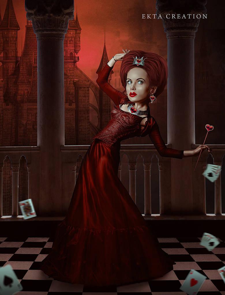 Queen Of Hearts by ektapinki