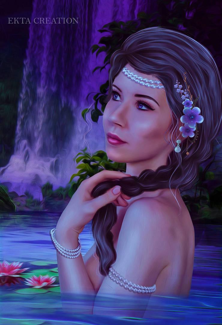 A Magical Pond by ektapinki