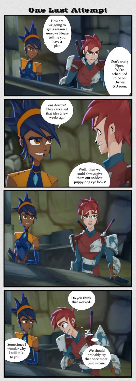 Storm Hawks - 4 Panel Comic by ShadowScorch