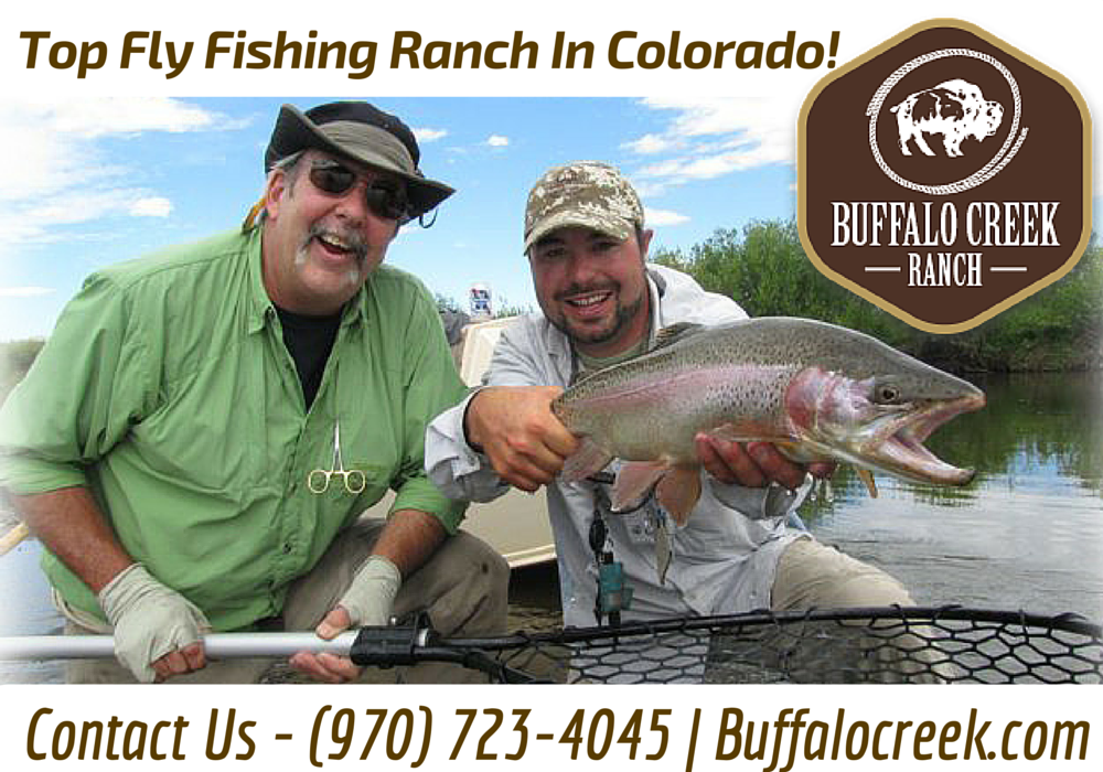 Private ranch fly fishing lodges resorts in co by for Best trout fishing in colorado