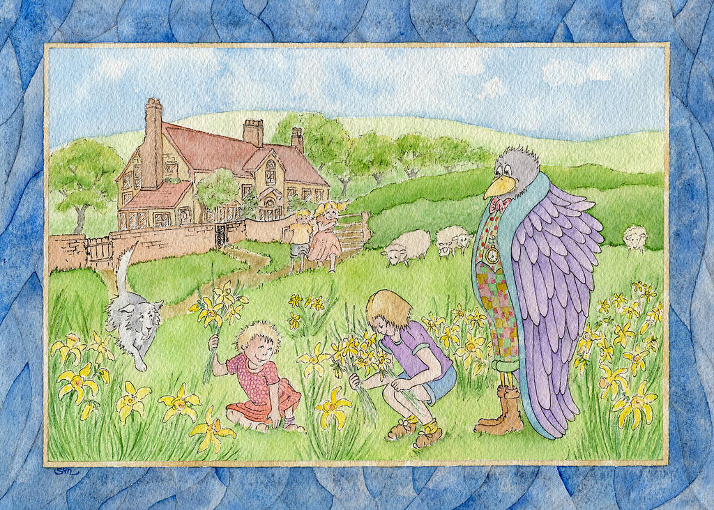 Crow's springtime by phantsythat