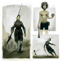 David and Goliath by JasperSandner