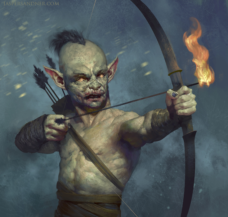 Goblin Archer by JasperSandner