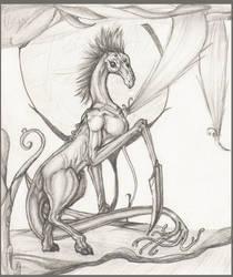 Blade creature by o0Andraste0o