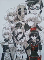 Akame Ga Kill-Jaegers by SelinSari