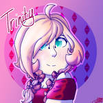 Trinity (Stronger than You Think) Fan Art by AMKHeart on DeviantArt