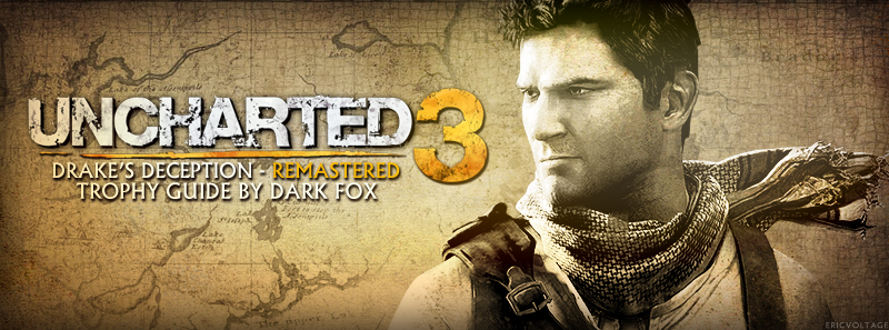 uncharted 3 drake s deception remastered trophy guide ps3 rh ps3trophies com Uncharted 1 Uncharted 3 PS3 Cover Art