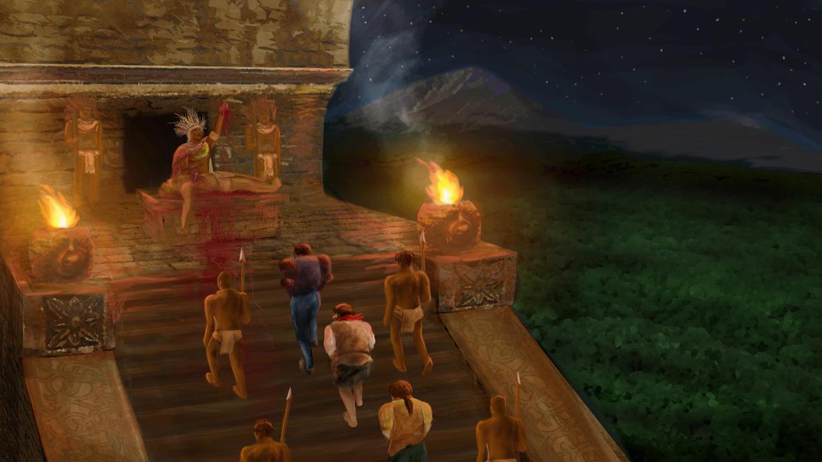 Aztec Sacrifice by Sadesper on DeviantArt