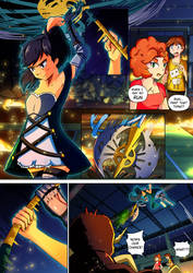 Least Likely Magical Girl P31 by genericbunnygirl