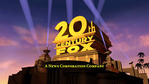 20th Century Fox 2009 logo Remake (Outdated 3)