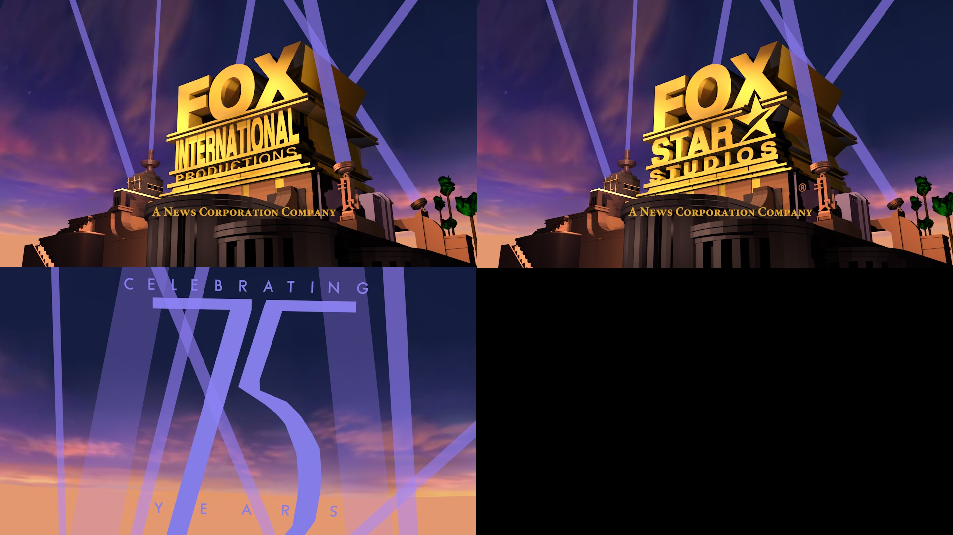 other related 2009 fox remakes  outdated 2  by logomanseva 20th anniversary logo templates 20th anniversary logo templates