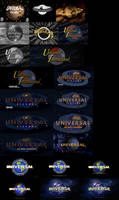 Universal Pictures Logo Remakes by logomanseva