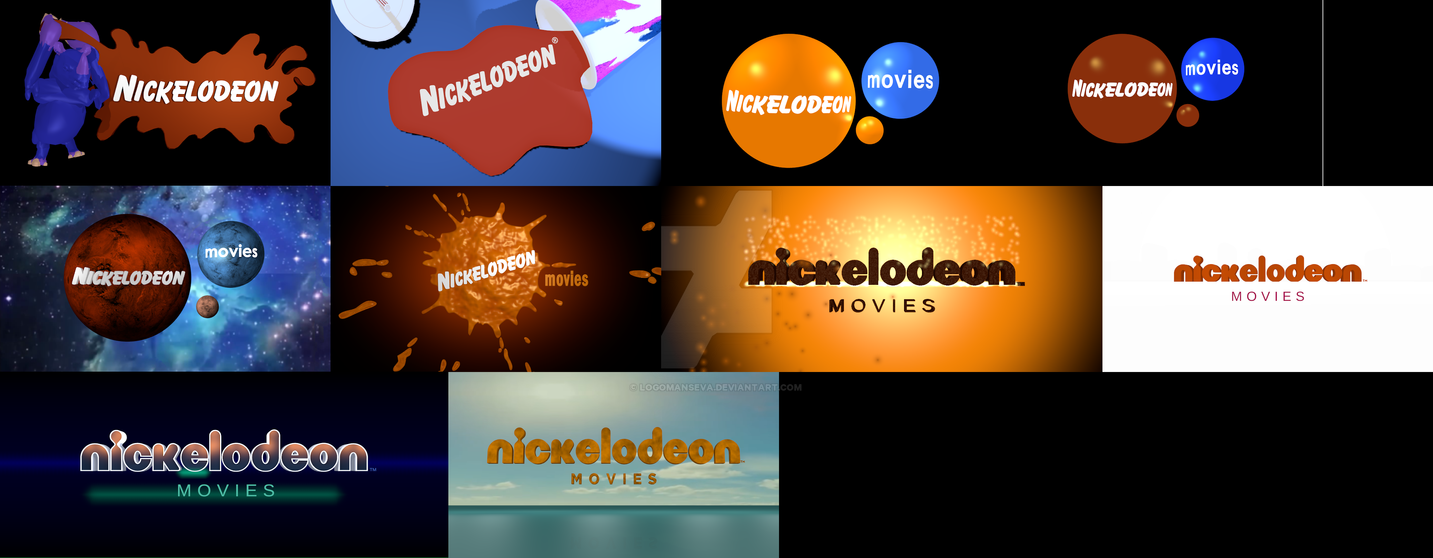 nickelodeon movies logo remakes by logomanseva on deviantart