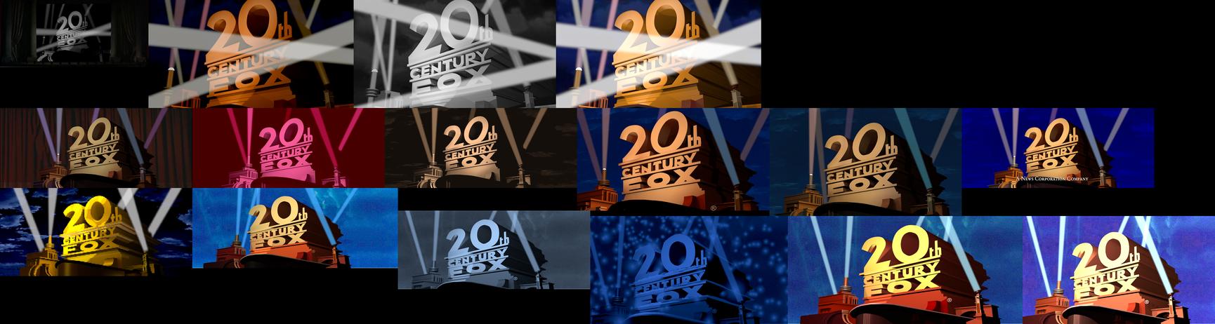Retro Fox Logo Remakes Part 6 (Variations) by logomanseva