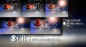 CBS Productions 1997 logo remakes