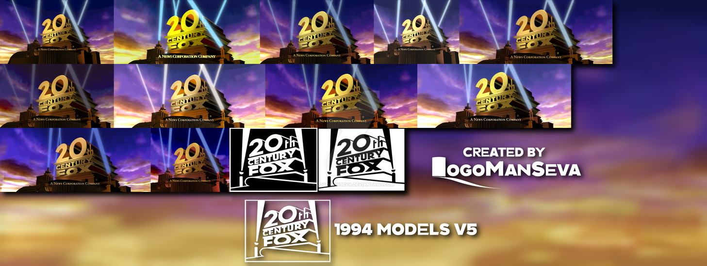 20th Century Fox 1994 Models V5 By Logomanseva On Deviantart