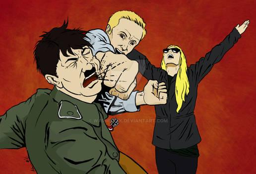 Punching Hitler