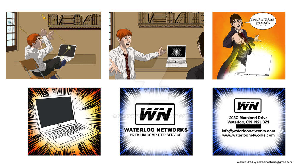 Wn Commercial Storyboard By Warmuzak On Deviantart