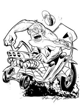 DM in Spidermobile