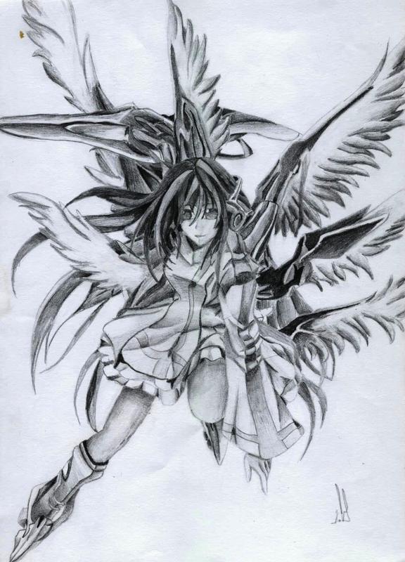 Warrior Angel By Naeylin