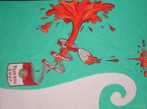 Dr. Seuss Tomato Soup