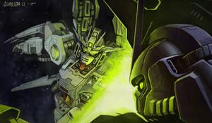 Gundam Battle by Eupackardia