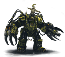 Ork Warboss by Eupackardia