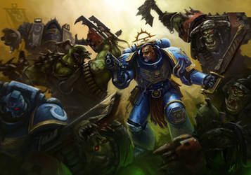 Ultramarines! by Eupackardia
