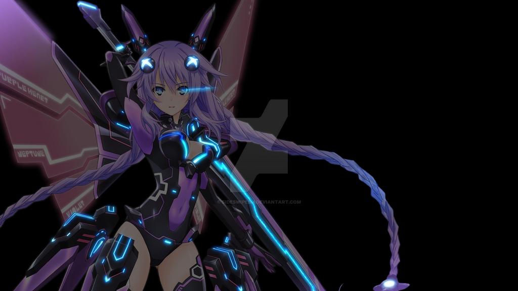Hyperdimension Neptunia Purple Heart Clean By