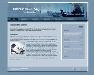 Business Website Template 005 by colorifer